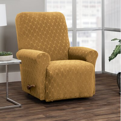 T-Cushion Recliner Slipcover Upholstery: Camel