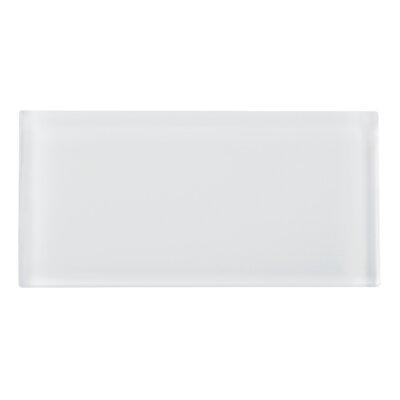 3 x 6 Glass Tile in White