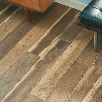 Geneva Prestige 6 x 48 x 12mm Oak Laminate Flooring in Brown