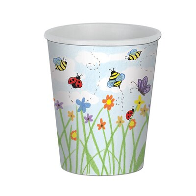Garden 9 oz. Paper Beverage Cup (Set of 12) 58206