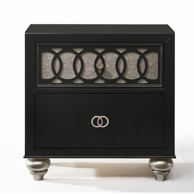 Nims 2 Drawer Nightstand
