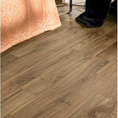 Brighton Vario 6 x 48 x 10mm Walnut Laminate Flooring in Cappuccino