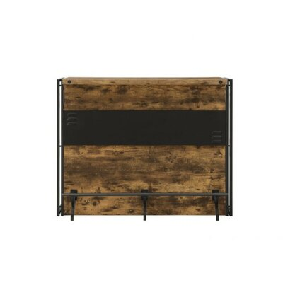 Mccreight Urban Wooden Bar with Wine Storage