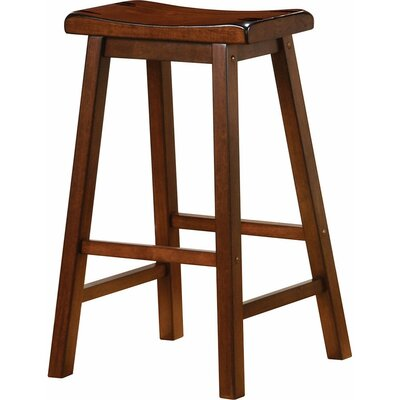 Venne 29 Bar Stool Color: Chestnut Brown