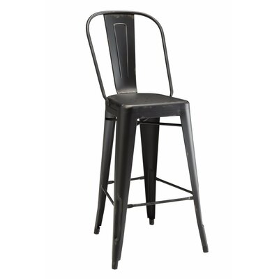 Endo 30 Bar Stool Color: Black