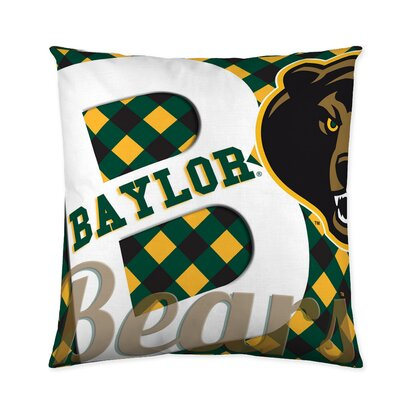 Baylor Bears Cotton Throw Pillow