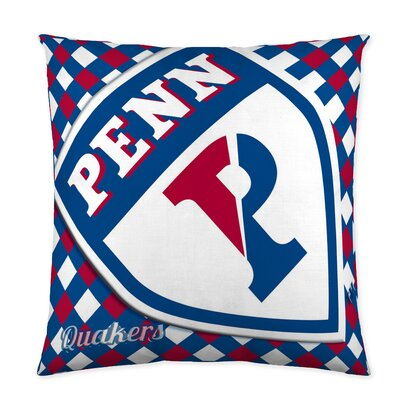 Penn Quakers Cotton Throw Pillow