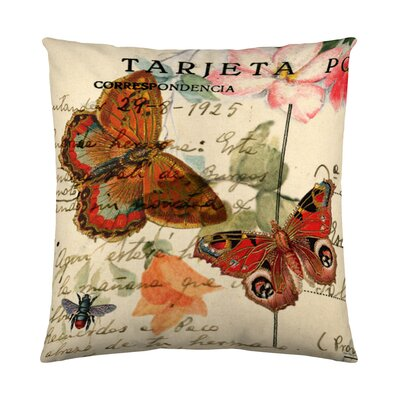 Romantico Cotton Throw Pillow