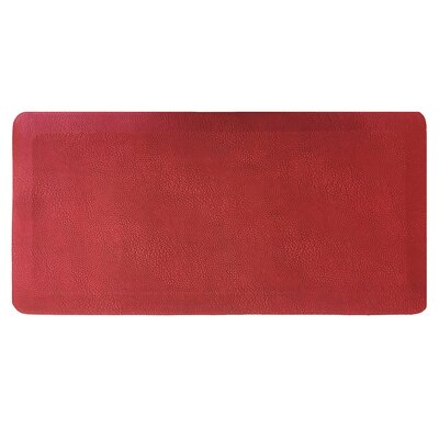 Comfort Air Kitchen Mat Mat Size: Rectangle 18 x 28, Color: Cherry