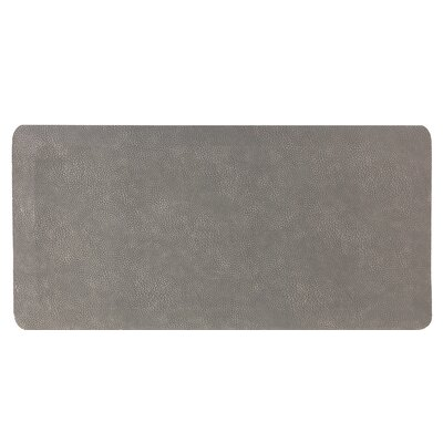 Comfort Air Kitchen Mat Mat Size: Rectangle 18 x 28, Color: Gray
