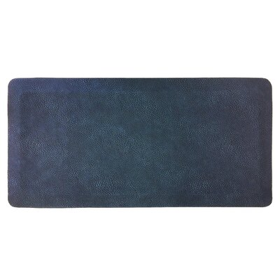 Comfort Air Kitchen Mat Mat Size: Rectangle 18 x 28, Color: Navy Blue