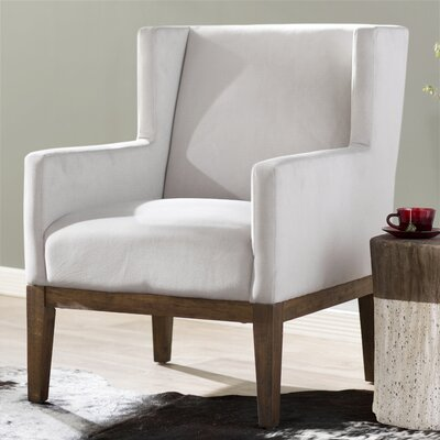 Lake Macquarie Wingback Chair Upholstery: Pumice