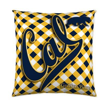 California Golden Bears Cotton Throw Pillow