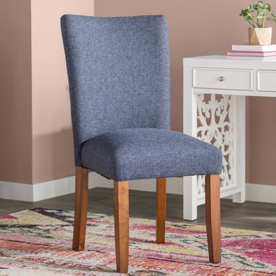 Lainey Parsons Chair Upholstery: Navy