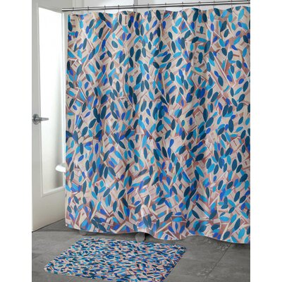 Mcalpin Spectacular Floral Shower Curtain Size: 90 H x 70 W