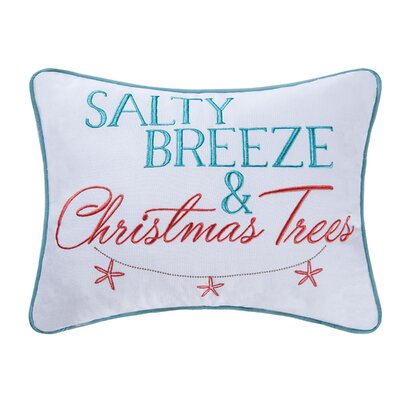 Fincham Salty Breeze Cotton Lumbar Pillow