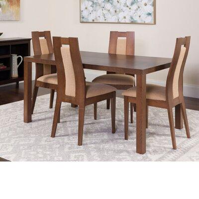 Hudnall 5 Piece Dining Set Color: Walnut