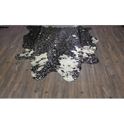 One-of-a-Kind Paquin Hand-Woven Cowhide Gold Area Rug