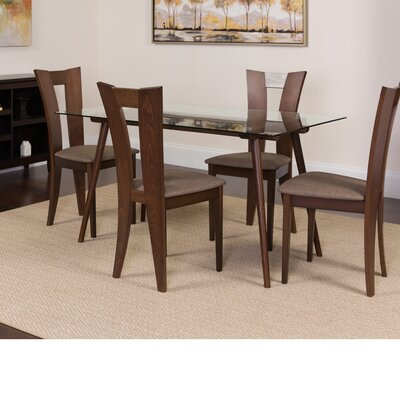 Hunsinger 5 Piece Dining Set Color: Espresso