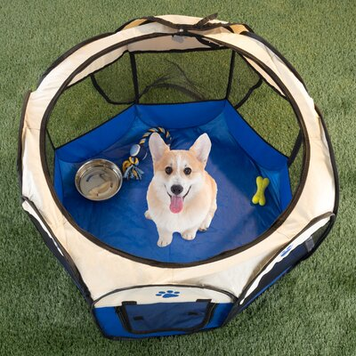 Pop-up Pet Pen Size: 22 H x 31.5 W x 31.5 D