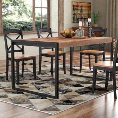 Haleigh Dining Table Size: 78.75