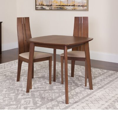 Hulbert 3 Piece Dining Set Color: Walnut