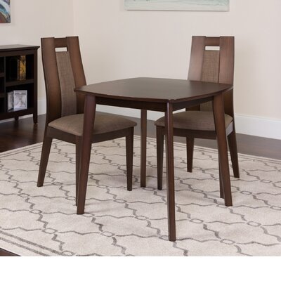 Humbert 3 Piece Dining Set Color: Espresso