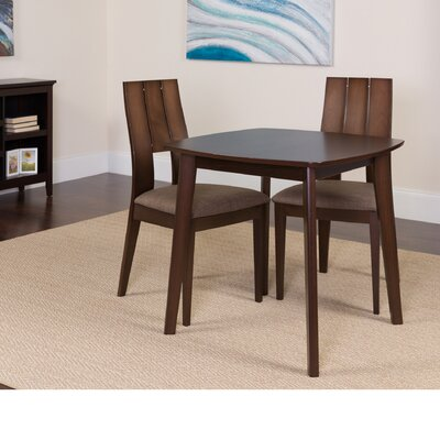 Dreer 3 Piece Dining Set Color: Espresso