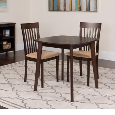 Humberwood 3 Piece Dining Set Color: Espresso