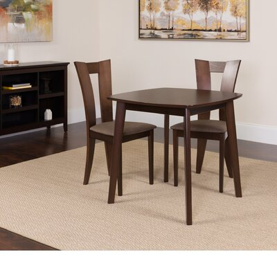 Humble 3 Piece Dining Set Color: Espresso