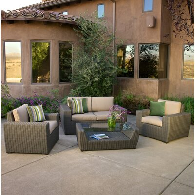 Chandler 4 Piece Sunbrella Sofa Set With Cushions