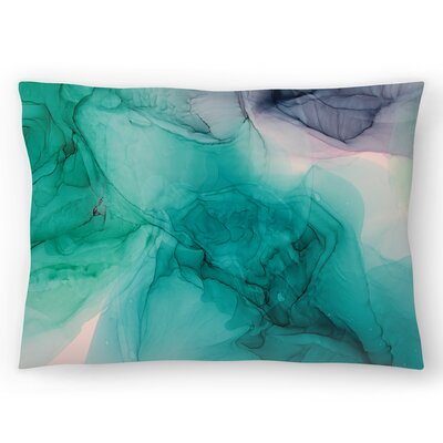 Emerald Eyes Lumbar Pillow Size: 14 x 20