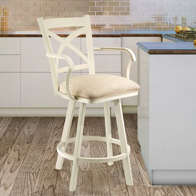 Linares 26 Swivel Bar Stool