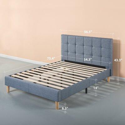 Dimattia Upholstered Platform Bed Size: Full