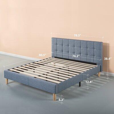 Dimattia Upholstered Platform Bed Size: King