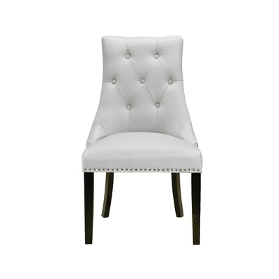 Chapman Lucas Upholstered Dining Chair Upholstery: Canvas