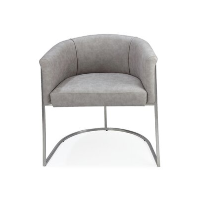 Leugers Upholstered Dining Chair Upholstery: Light Gray