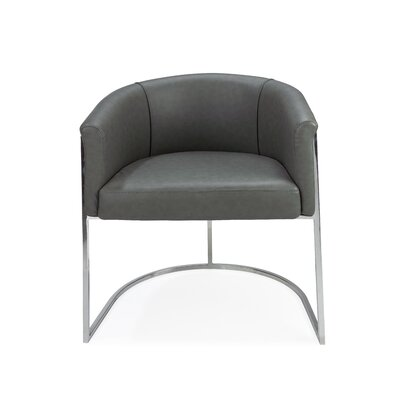 Leugers Upholstered Dining Chair Upholstery: Dark Gray