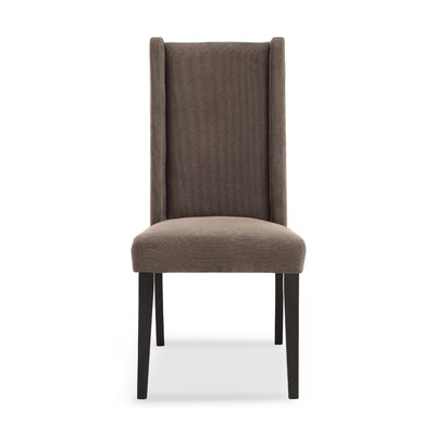 Wakerobin Upholstered Dining Chair Upholstery Color: Mocha