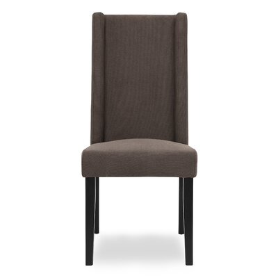 Wakerobin Upholstered Dining Chair Upholstery Color: Gravel