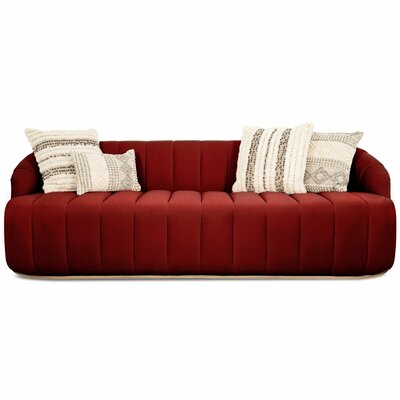 Avalon Sofa Upholstery: Merlot