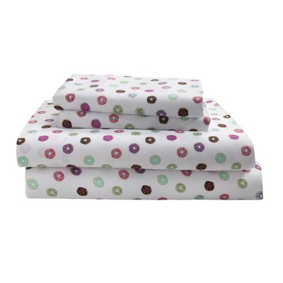 Johansen Percale Sheet Set Size: Queen
