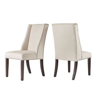 Killough Hostess Wingback Chair Upholstery: Beige
