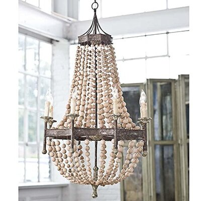 Hebron 8-Light  LED  Chandelier BAFC5D0387544008806DA1CF8EEFAE25