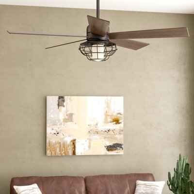 52 Charo Damp Location 5 Blade Ceiling Fan