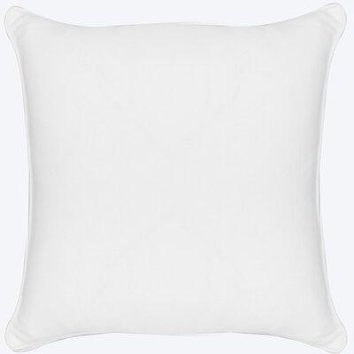 Platz Cotton Throw Pillow Color: White