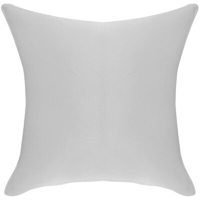 Platz Cotton Throw Pillow Color: Mist Gray