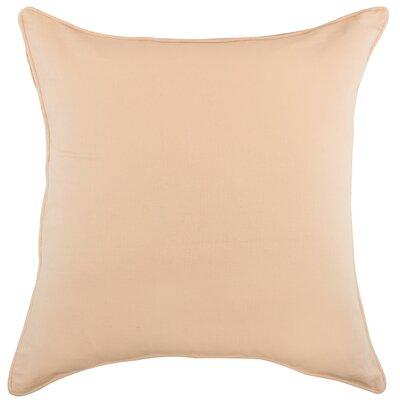 Platz Cotton Throw Pillow Color: Blush