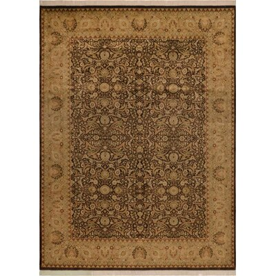 One-of-a-Kind Delron Vegetable Dye Hand-Knotted Wool Brown/Tan Area Rug