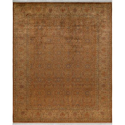 One-of-a-Kind Delron Hand-Knotted Wool Light Brown/Light Tan Area Rug